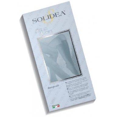 SOLIDEA Relax Unisex Ccl.2 PA kojinės iki kelių atvirais pirštais