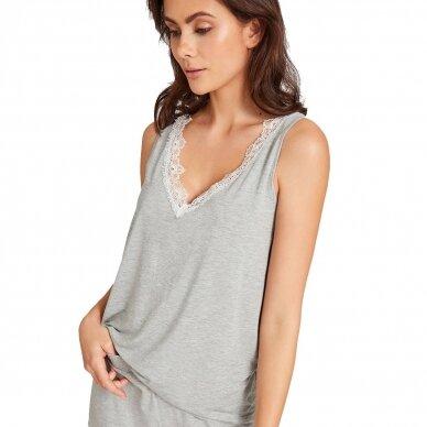 Aubade Sweet Bliss pižamos marškinėliai be rankovių