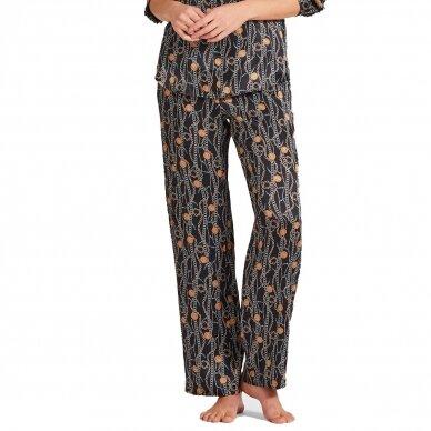 Aubade Toi Mon Amour šilkinės pižamos kelnės