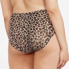 CHANTELLE Soft Stretch klasikinės besiūlės kelnaitės Leopard
