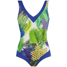 CHARMLINE Palm World shaping swimsuite 1092