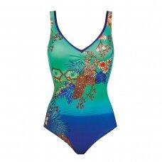 CHARMLINE Pastel Vines formuojantis maudymosi kostiumėlis 1180