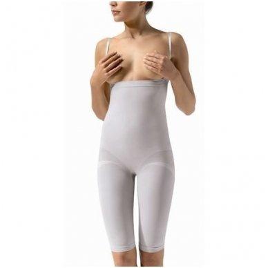 CONTROL BODY PLUS Short lungo šortai su petnešomis 2