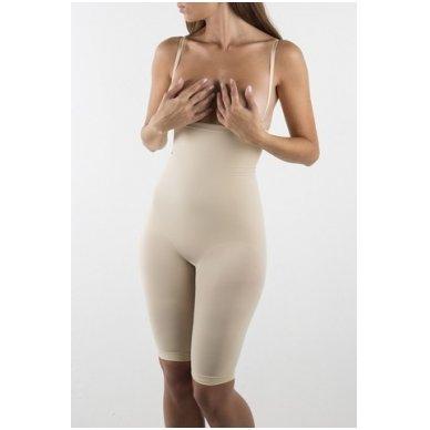 CONTROL BODY PLUS Short lungo šortai su petnešomis 3