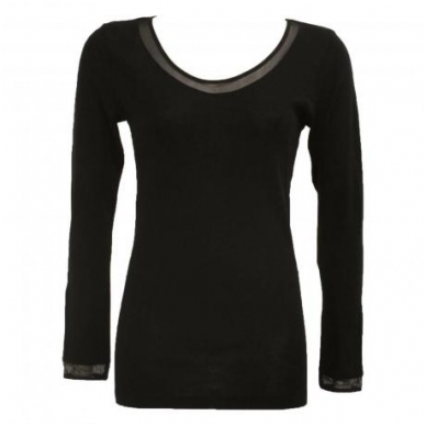 FEMILET Juliana merino vilnos marškinėliai ilgomis rankovėmis 2
