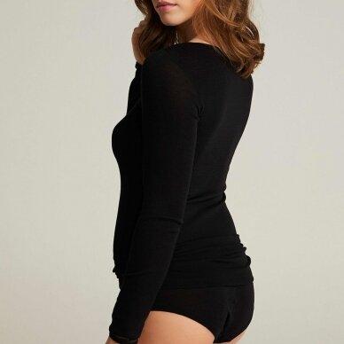 FEMILET Juliana merino vilnos marškinėliai ilgomis rankovėmis