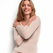 JANIRA Silk Skin krekls ar garām piedurknem