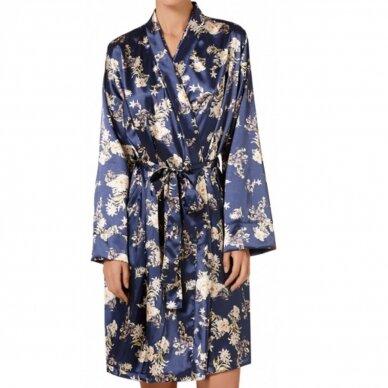 JANIRA moteriškas chalatėlis / kimono Blue Notte