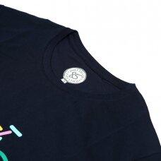 JOHN FRANK vyriški marškinėliai trumpomis rankovėmis BIKE