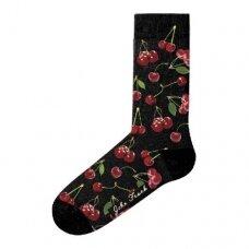 Linksmos moteriškos kojinės CHERRY