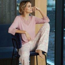 LISCA Isabelle pižamos marškiniai ilgomis rankovėmis