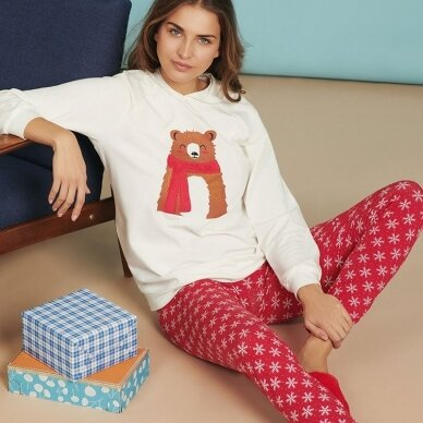 LISCA Wonderland pižama su kapišonu 4