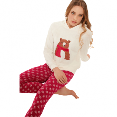 LISCA Wonderland женская пижама с капюшоном 3