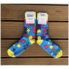 """Moteriškos kojinės """"Puzzle"""""""