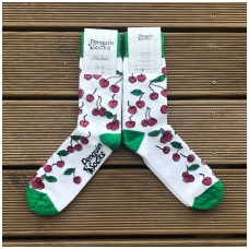 Sweet cherry socks for Women