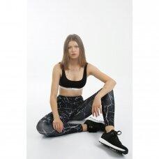 Moteriškos sportinės tamprės MARBLE BL