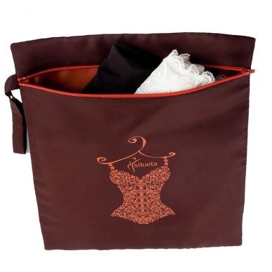 Moteriškas SILUETA kelioninis apatinio trikotažo maišelis 4