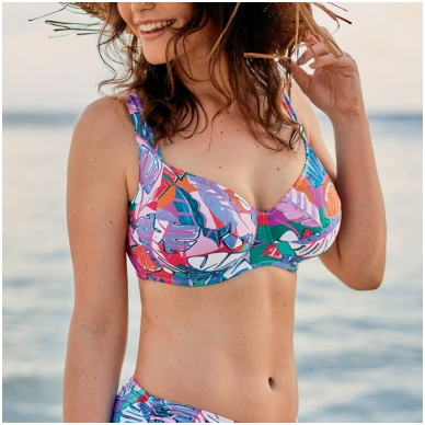 ROSA FAIA Sibel swim bikini top