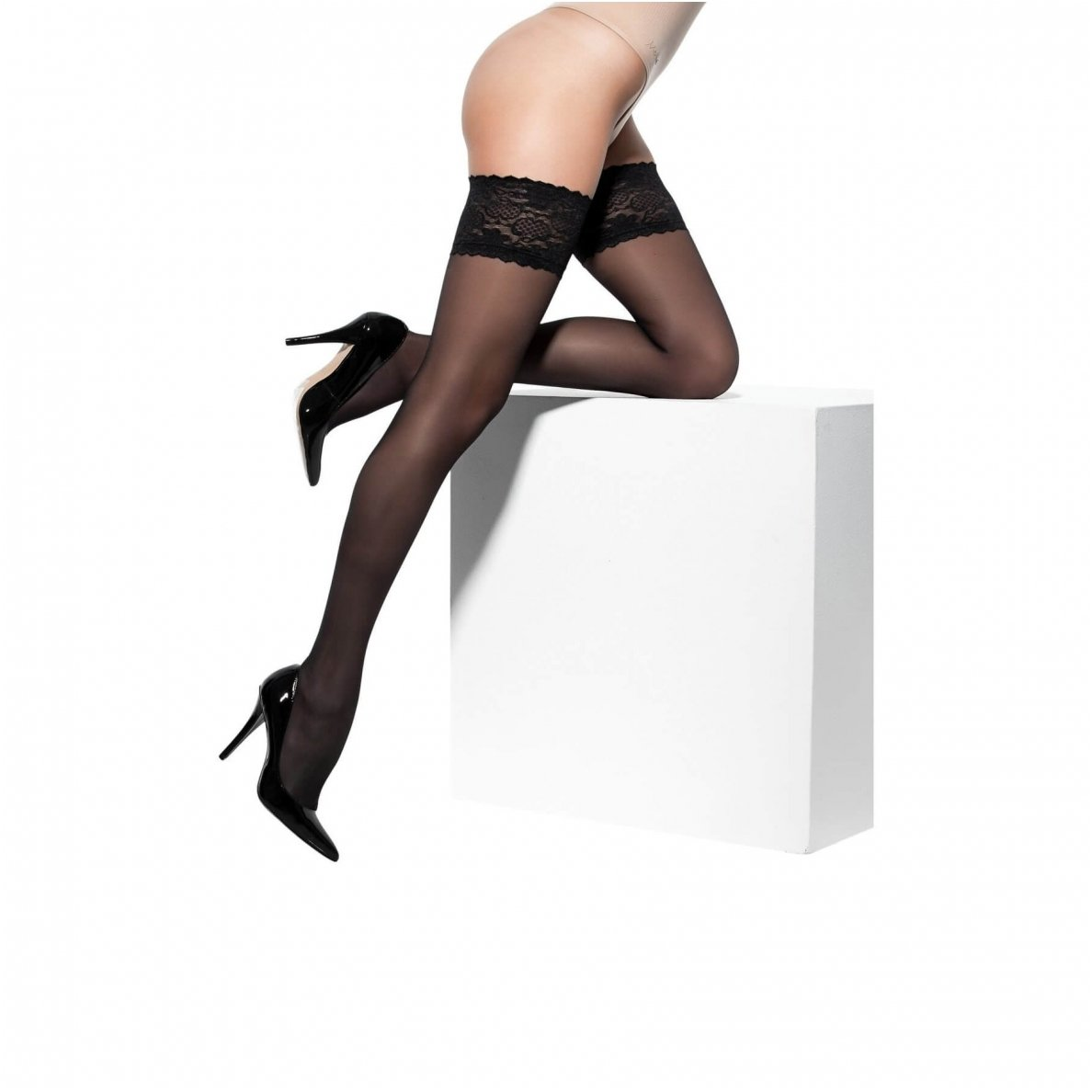 07a0a8bd23 SOLIDEA Marilyn 70 Sheer compression hold-up stockings | SILUETA.lt