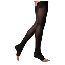 SOLIDEA Catherine Ccl.1 open toe compression thigh highs