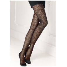 SOLIDEA Chantal 70 den compression lace tights