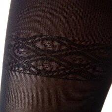 SOLIDEA Curvy 70 matinės kompresinės pėdkelnės apkūnesnėms moterims