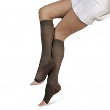 SOLIDEA Relax Unisex Ccl.2 PA Plus компрессионные гольфы с открытым носком
