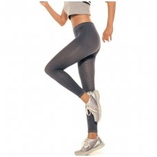 SOLIDEA Silver Wave Long anticellulite massaging leggings