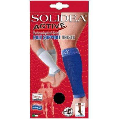 SOLIDEA Active Calf Support kompresinės blauzdinės sportui 3