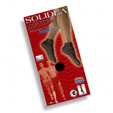 SOLIDEA Active Power Unisex sporta zeķes līdz potītei 4