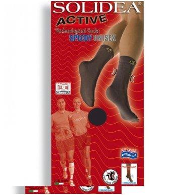 SOLIDEA Active Speedy Unisex mikromasažinės sportinės kojinės 2