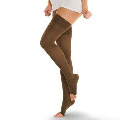 SOLIDEA Catherine Ccl.2 компрессионные чулки с открытым носком