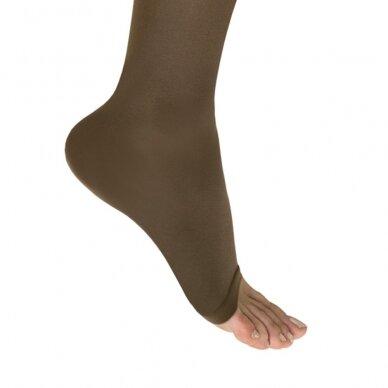 SOLIDEA Catherine Ccl.2 Plus line Punta Aperta kompresinės kojinės atvirais pirštais 2