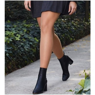 SOLIDEA Curvy 70 denų kompresinės pėdkelnės apkūnesnėms moterims 4