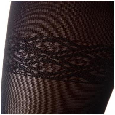 SOLIDEA Curvy 70 matinės kompresinės pėdkelnės apkūnesnėms moterims 3