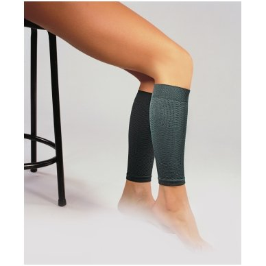 SOLIDEA Leg kompresinės mikromasažinės blauzdinės sportui 2