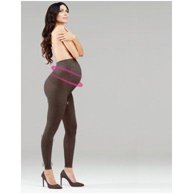 SOLIDEA Leggings Maman 70 kompresinės tamprės nėščiosioms 2