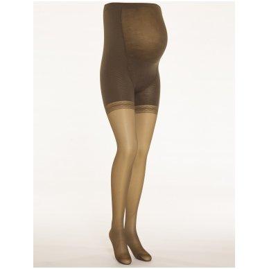 SOLIDEA Magic Maman 70 sheer maternity compression tights 3