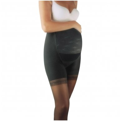 SOLIDEA Magic Maman 70 sheer maternity compression tights