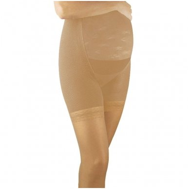 SOLIDEA Magic Maman 70 sheer maternity compression tights 2