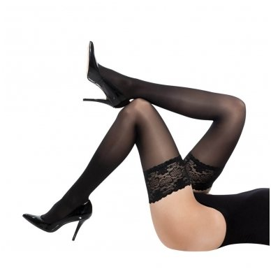 SOLIDEA Marilyn 140 Sheer Ccl1 compression hold-up stockings