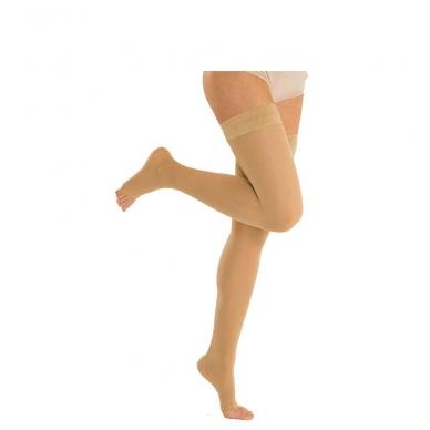 SOLIDEA Marilyn Ccl.3 Plus line kompresinės kojinės atvirais pirštais 2