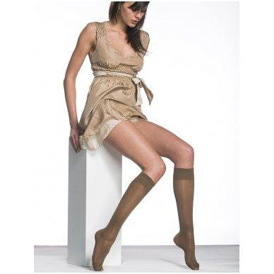 SOLIDEA Miss Relax 100 sheer moteriškos kompresinės kojinės iki kelių 4