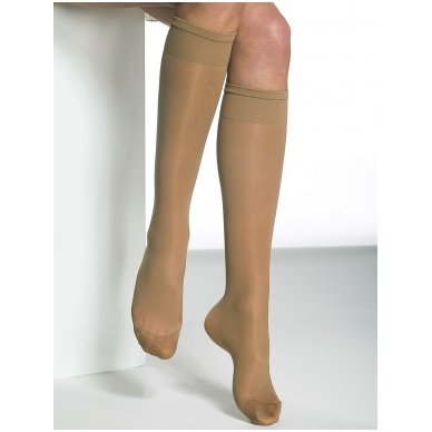 SOLIDEA Miss Relax 70 sheer moteriškos kompresinės kojinės iki kelių 3
