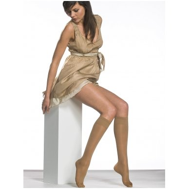 SOLIDEA Miss Relax 70 sheer sieviešu kompresijas pusgarās zeķes 2