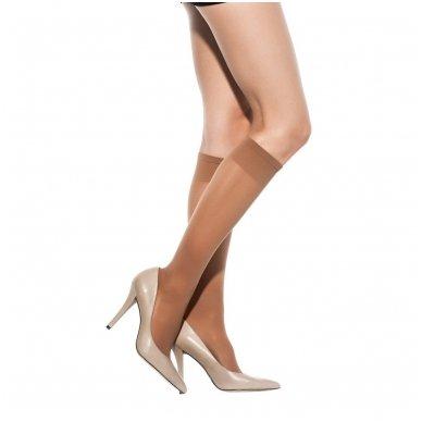 SOLIDEA Miss Relax 70 sheer moteriškos kompresinės kojinės iki kelių