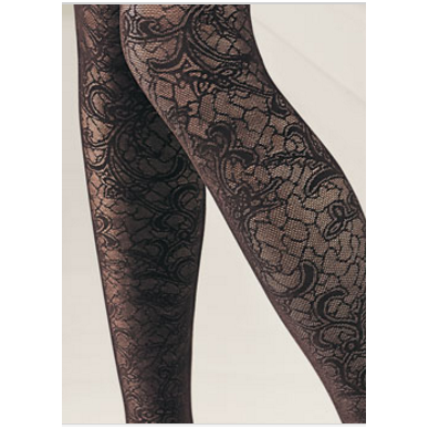 SOLIDEA Rachel 70 den lace compression tights 4