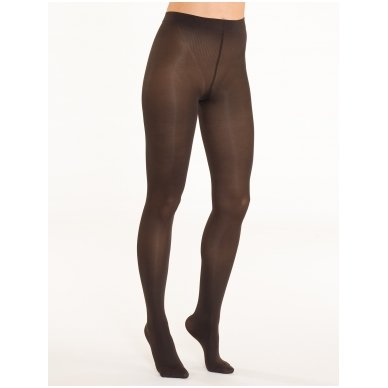 SOLIDEA Red Wellness 70 den compression tights with Infrared Ray yarns 3