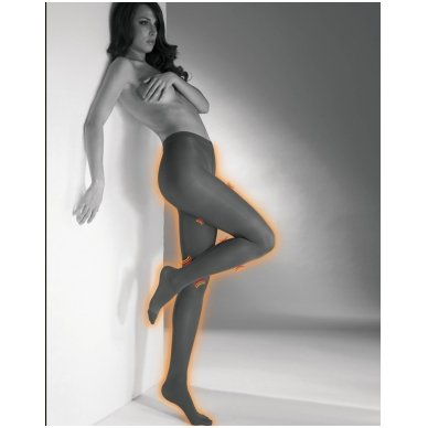 SOLIDEA  Red Wellness 70 den kompresijas zeķbikses ar infrasarkano staru efektu 4