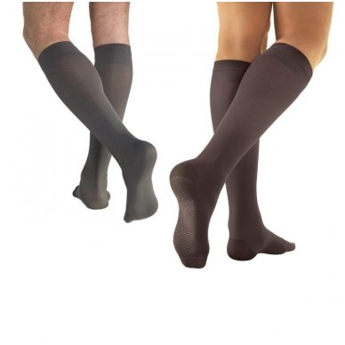 SOLIDEA Relax Unisex 70 den compression knee highs 3